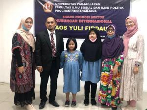 Sidang Promosi Doktor Hubungan Internasional Dr. Aos Yuli Firdaus, S.I.P.,M.Si.